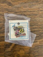 2001 - 126th Preakness Stakes Official Lapel Pin - With Original Packaging