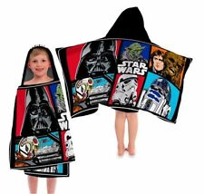 Disney Original Star Wars Classic Characters Hooded Bathroom Towel 100% Cotton