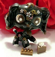 Littlest Pet Shop Ooak Cocker Spaniel Dog Custom Lps Figure with Accessories