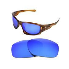 NUOVO Polarizzata CUSTOM Ghiaccio Blu Lenti Per Oakley Dieci Occhiali da sole