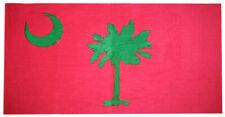 Pink SC South Carolina 30 x 60 Beach Towel (Cotton Twill)