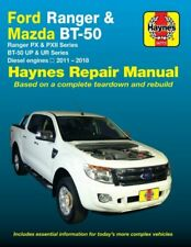 Haynes Workshop Repair Manual suitable for Ford Ranger PX Mazda BT-50 UP UR