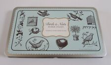 Cavallini Italy Birds & Nests Rubber Stamp Kit