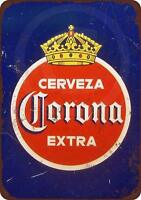 "1940 Corona Extra Cerveza Vintage Retro Metal Sign 8"" x 12"""