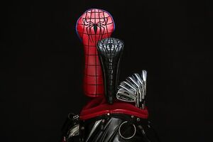 2019 Spider-man and Black Spiderman Venom Golf Headcover Set (1 set of 2)