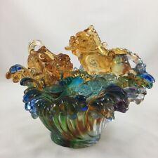 Amore Jewell Pixiu brings fortune Fengshui Decoration Gift Liuli Crystal Glass