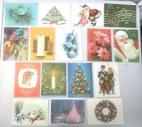 50 Very Vintage Unused Artistic Christmas Cards & Envelopes 1950s or 1960s NOS