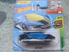 HOT WHEELS 2018 #241/365 Jardin Blu HW Exotics NUOVO Casting 2018