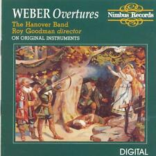 {Antique CD Shop} 1989 The Hanover Band Roy Goodman - WEBER Overtures - CD -0018