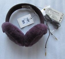 UGG Wired Earmuffs Tech Nyla Knit Port NEW