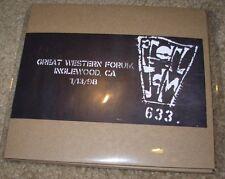 PEARL JAM New 2X CD 1-13-98 INGLEWOOD FORUM 1998 official bootleg concert vault