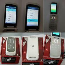 CELLULARE MOTOROLA GLEAM PLUS BIANCO GSM SIM FREE DEBLOQUE UNLOCKED