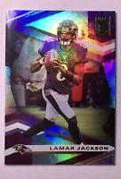 Lamar Jackson DONRUSS ELITE HOLOFOIL PANINI 2020 BALTIMORE RAVENS FOOTBALL #19