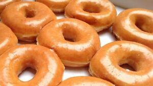 32 X Homemade Super Soft Glazed Doughnuts