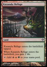 (X4) Kazandu Refuge   VO -  MTG Magic (Mint/NM)