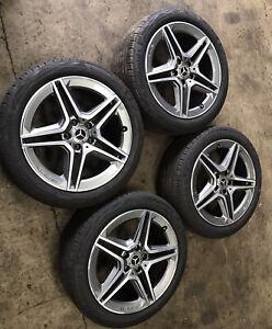 "Mercedes Benz W177 A177 18"" AMG 5 Spoke Alloy Wheels A1774011500 225/45 R18 Tyre"