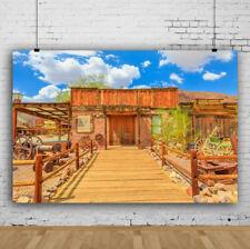 7x5ft Backdrop Retro Western Cowboy Shooting Studio Photography Prop Background