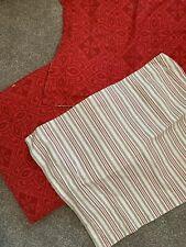 Martha Stewart Cozy Cotton Reversible Flannel Duvet Cover - FULL / QUEEN