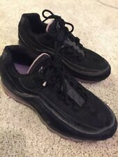 Nike Air Max 24-7 Limited Edition Size 9.5 397252-007 Black/Black-Lilac