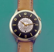 "Vintage 50's  Le Coultre Vacheron Bumper Automatic Alarm Watch  ""Jumbo"" 37.5MM"