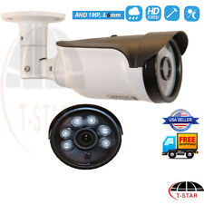 Waterproof HD 720P AHD 1MP 3.6MM CCTV Security Indoor Outdoor BNC Cable Camera