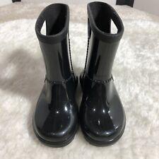 Ugg Australia Rahjee (Toddler 6) Patent Rain Boots Black