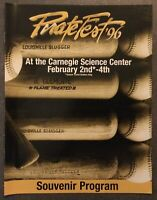 PIRATEFEST 1996 Souvenir Program with Louisville Slugger On The Front Cover