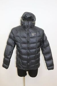Mountain HardWear Men`s DOWN Hooded Lighweight Outdoor Jacket sz Small