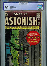 Tales To Astonish #34 CBCS 3.5 1962 Silver Age Marvel Comic Jack Kirby Ditko