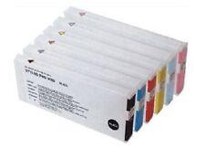 7 x Tinten Patronen für Epson Stylus Pro 9600 7600 4000 - 220ml UV Cartridges