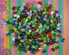 LOOSE INDIA PRESSED GLASS BEADS-MIXED CLEAR COLORS-BUTTERFLIES-40 BEADS-GIFT