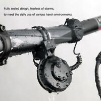 1*Elektrische Fahrradklingel Wasserdicht Fahrrad Radfahren Lenker Horn Ring Bell