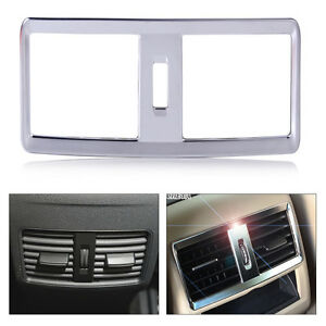 Fit for Benz ML GL Class 13-16 Rear Air Condition Vent Outlet Cover Trim Frame