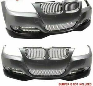 BMW E90 SE 09-12 3 Series 335i 335d PU Front Bumper Lip Splitter Spoiler   NEW