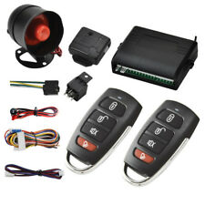 Car 1Way Alarm Protec Security Keyless Entry Siren Remote Control Burglar System