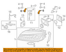 AUDI OEM 2015 A8 Quattro Headlight Head Light Lamp-Lower Bracket 4H0941455