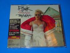 2017 JAPAN PINK BEAUTIFUL TRAUMA JEWEL CASE CD w/BONUS TRACK P!NK