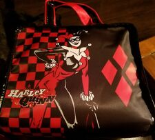 Harley Quinn MAKE UP Bag Case NWT Cosmetic SOHO Gotham Girls DC Comics