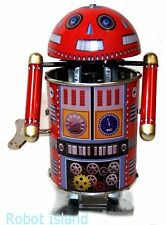 Robo Cop Tin Toy Windup Google Droid by Welby Toys