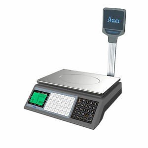 Retail Shop Scale PS1XDP 15kg Trade Approved. Ideal for Butchers & Halal Meat