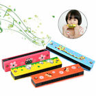 Kids Children Harmonica Toy Wooden Educational Musical Instrument Gift 16 Holes