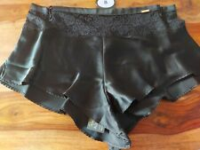 M&S ROSIE For Autograph Silk & Lace French Knickers Size 8