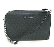 Michael Kors Women's Jet Set Crossbody - Black