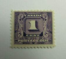 CANADA BOB #J6 * MH, Fine, 1930 - 32 , 1 Cent,  Postage Due stamp