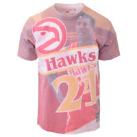 Mitchell & Ness Men's Dominique Wilkins #21 City Pride S/S T-Shirt