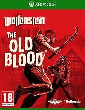 Wolfenstein-IL VECCHIO sangue per XBOX One (nuovo e sigillato)