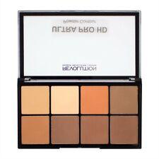 Makeup Revolution Ultra Pro HD Powder Contour Medium Dark Zestaw pudrów prasowan