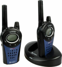 Cobra MT975 Walkie Talkie Radio/Baby Monitor Doble Cargador Y Baterías Y Manual
