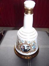 Bells Scotch whisky decanter - Royal wedding, Prince Andrew & Sarah Ferguson