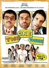 One Two Three (Hindi DVD) (2008) (English Subtitles) (Brand New Origianl DVD)